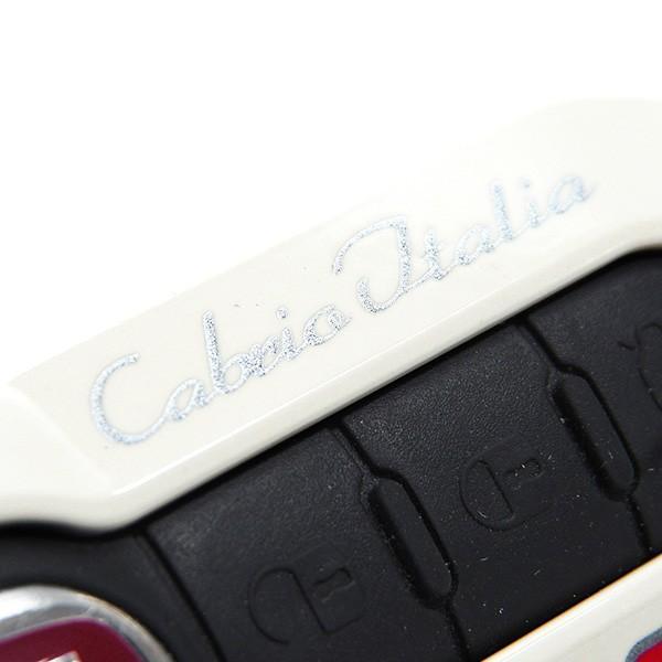 アバルト純正 Cabrio Italiaキーカバー(プロトタイプ/ホワイト)|itazatsu|06