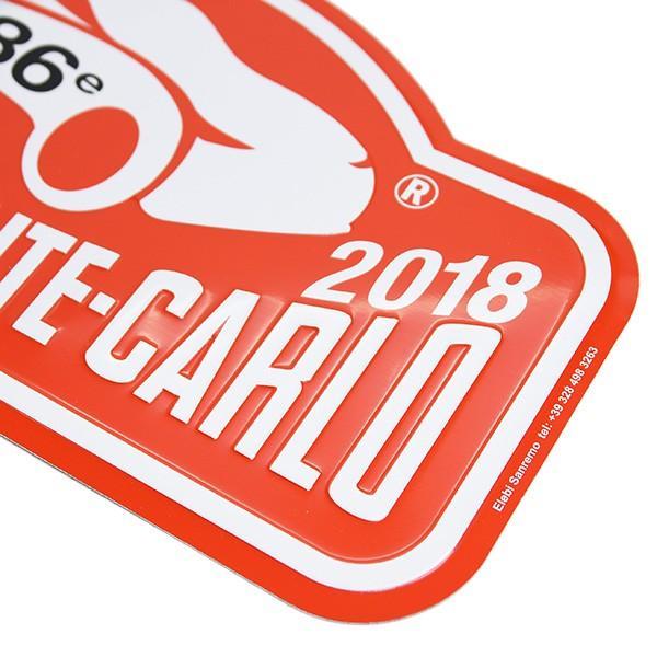 Rally Monte Carlo 2018オフィシャルメタルプレート(Large)|itazatsu|03