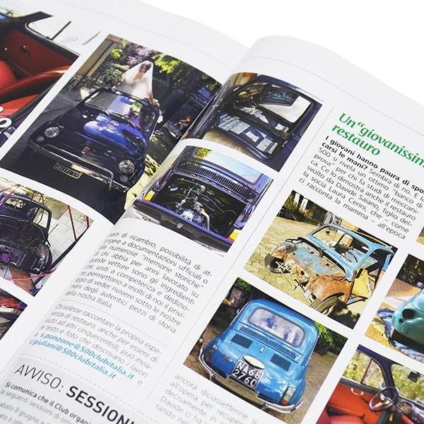 フィアット FIAT 500 CLUB ITALIA会報誌 2018年No.3 itazatsu 11