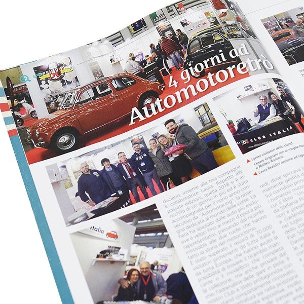 フィアット FIAT 500 CLUB ITALIA会報誌 2018年No.3 itazatsu 04