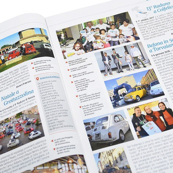 フィアット FIAT 500 CLUB ITALIA会報誌 2018年No.3 itazatsu 06