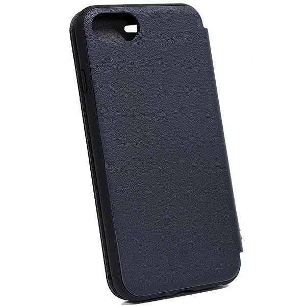 MASERATI純正 iPhone 6/6s/7/8ブックタイプレザーケース-GRANLUSSO/ブルー|itazatsu|03