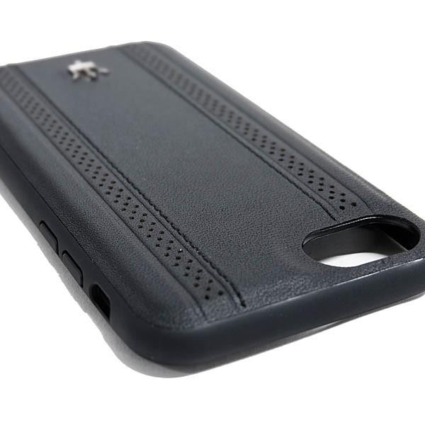 MASERATI純正 iPhone 6/6s/7/8レザー背面ケース-GRANLUSSO/ブラック|itazatsu|05