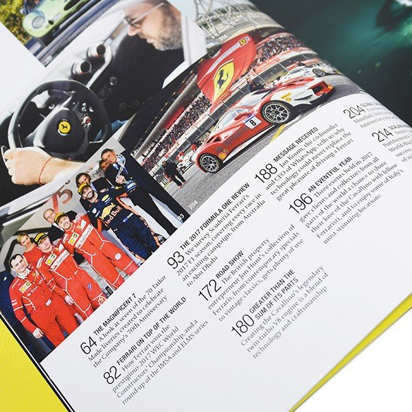 フェラーリ The Ferrari Official Magazine 37/2017(Year Book)-贈呈用ケース付き-|itazatsu|07