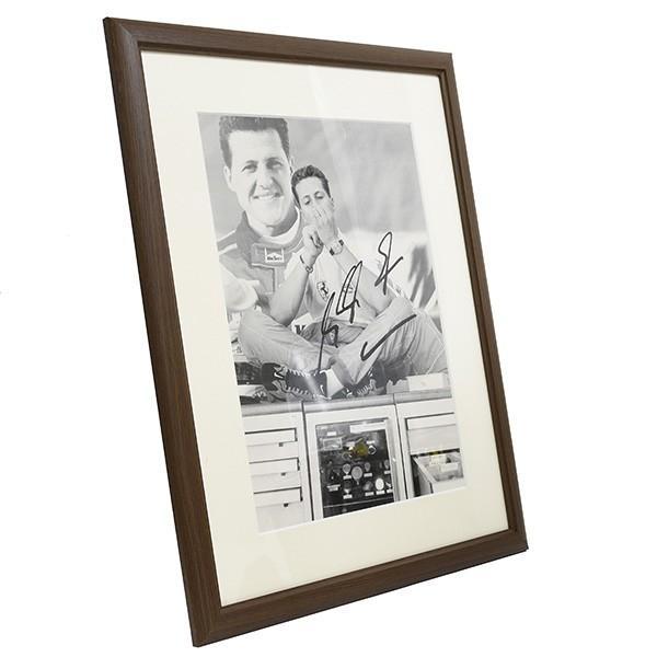 スクーデリア フェラーリ フィオラノオフィス用額装フォト-M.Schumacher直筆サイン入り-|itazatsu|02