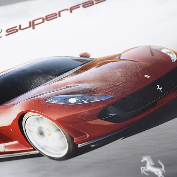 フェラーリ 812 Superfast本国カタログブック itazatsu 04