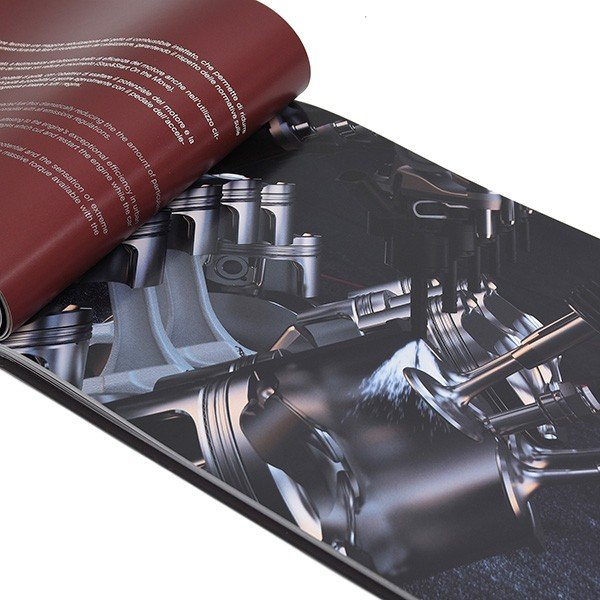 フェラーリ 812 Superfast本国カタログブック itazatsu 07