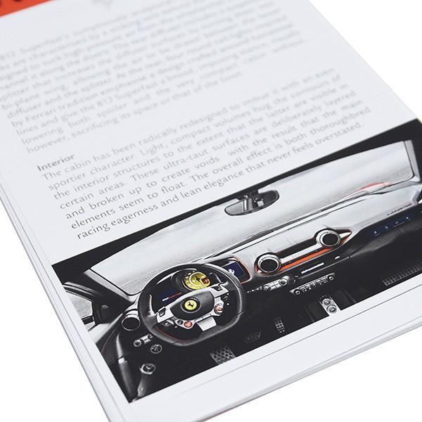 フェラーリ純正 812 Superfastメディアブック itazatsu 08