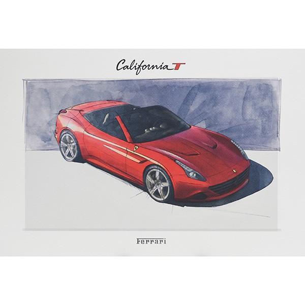 フェラーリ純正 488GTB/488Spider/California-T VIPゲスト記念品リトグラフセット|itazatsu|11