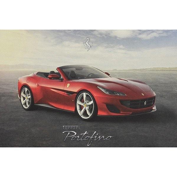 フェラーリ Portfinoテクニカルカード|itazatsu