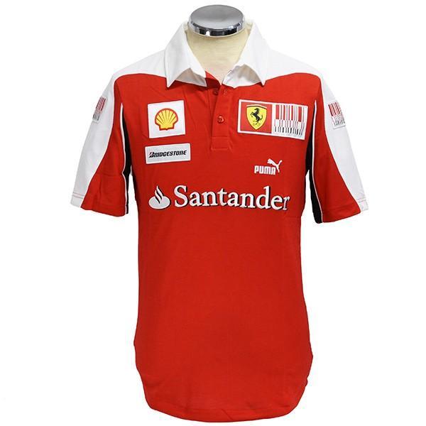 スクーデリア フェラーリ2010ドライバー支給用ポロシャツ|itazatsu