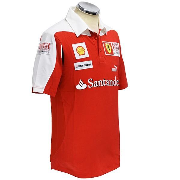 スクーデリア フェラーリ2010ドライバー支給用ポロシャツ|itazatsu|02