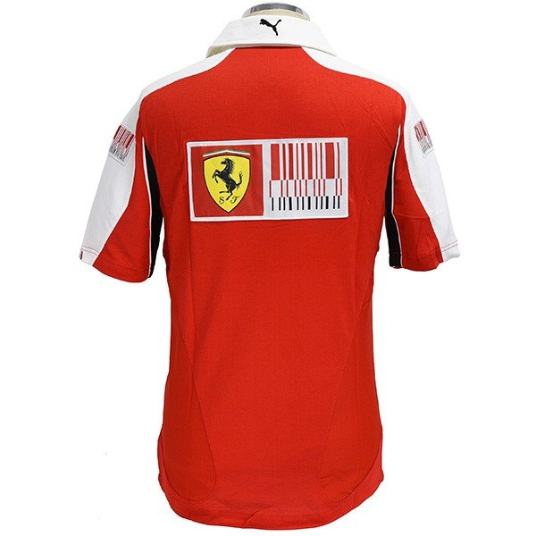 スクーデリア フェラーリ2010ドライバー支給用ポロシャツ|itazatsu|03