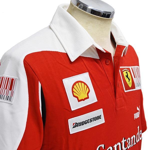 スクーデリア フェラーリ2010ドライバー支給用ポロシャツ|itazatsu|04