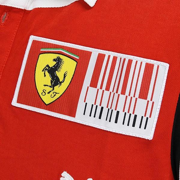 スクーデリア フェラーリ2010ドライバー支給用ポロシャツ|itazatsu|05