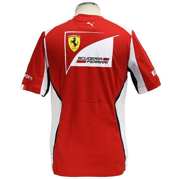 スクーデリア フェラーリ2012ドライバー支給用Tシャツ itazatsu 04