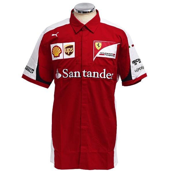 スクーデリア フェラーリ 2015エンジニア用シャツ|itazatsu