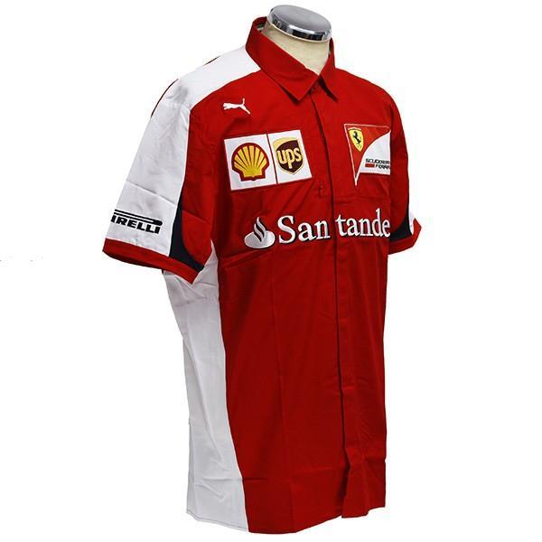 スクーデリア フェラーリ 2015エンジニア用シャツ|itazatsu|03