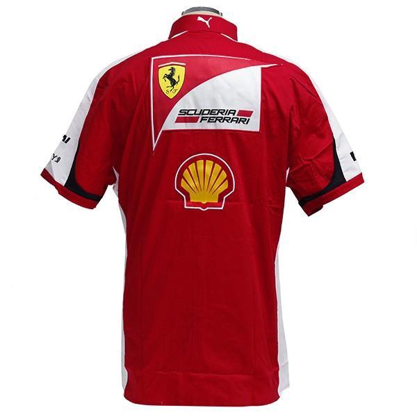 スクーデリア フェラーリ 2015エンジニア用シャツ|itazatsu|04