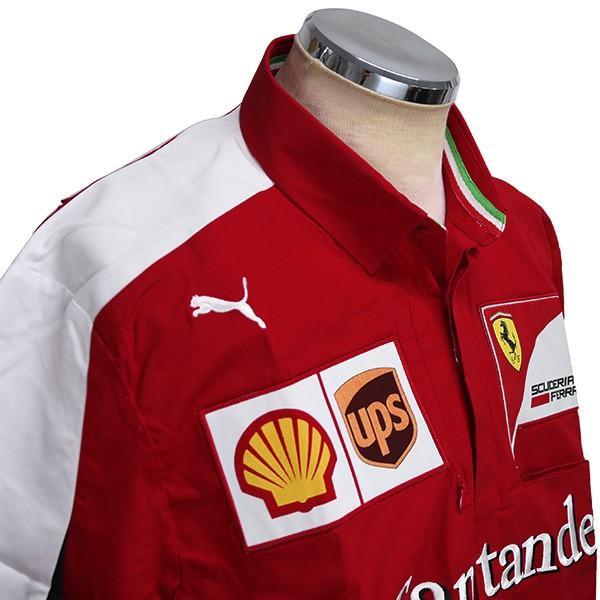 スクーデリア フェラーリ 2015エンジニア用シャツ|itazatsu|05