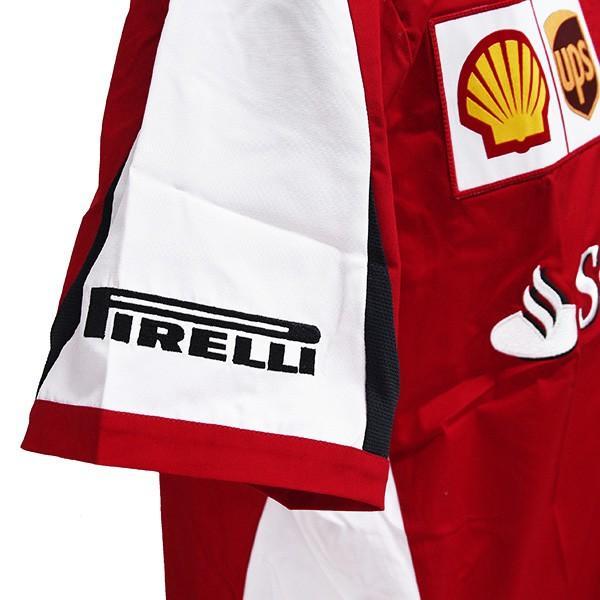 スクーデリア フェラーリ 2015エンジニア用シャツ|itazatsu|09