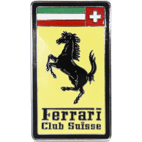 フェラーリ Ferrari Club SUISSE七宝エンブレム|itazatsu