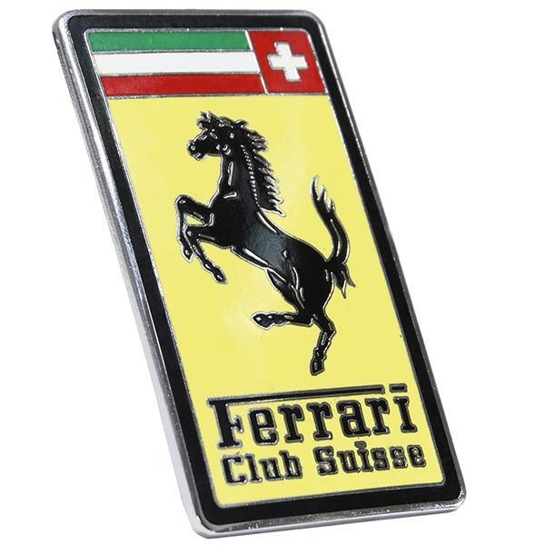 フェラーリ Ferrari Club SUISSE七宝エンブレム|itazatsu|02