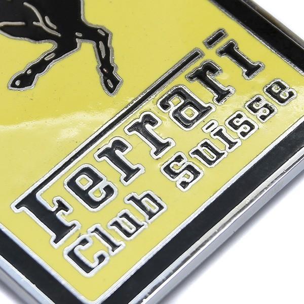 フェラーリ Ferrari Club SUISSE七宝エンブレム|itazatsu|05