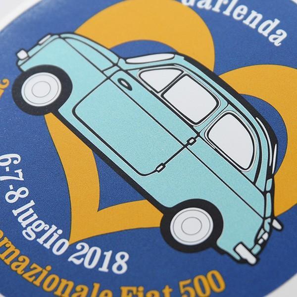 フィアット FIAT 500 CLUB ITALIA 35thミーティングステッカー|itazatsu|03