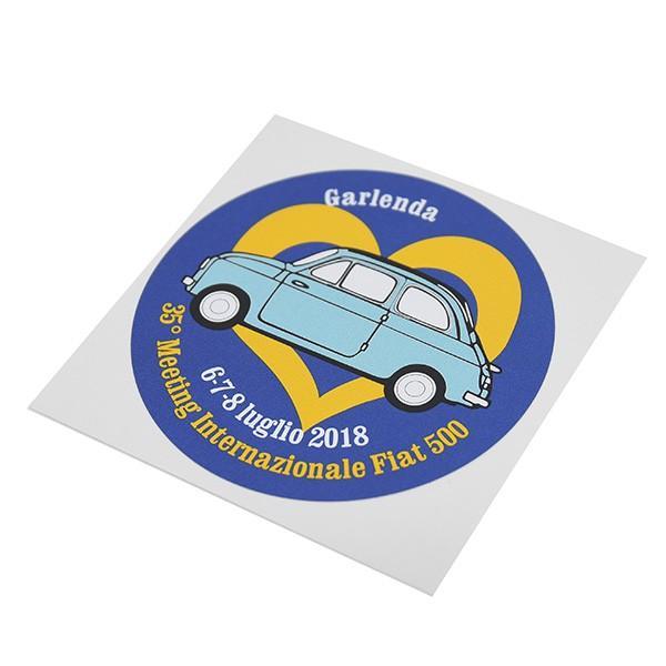 フィアット FIAT 500 CLUB ITALIA 35thミーティングステッカー|itazatsu|05