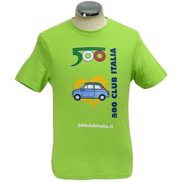 フィアット FIAT 500 CLUB ITALIA 35thミーティングTシャツ|itazatsu