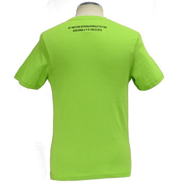 フィアット FIAT 500 CLUB ITALIA 35thミーティングTシャツ|itazatsu|02