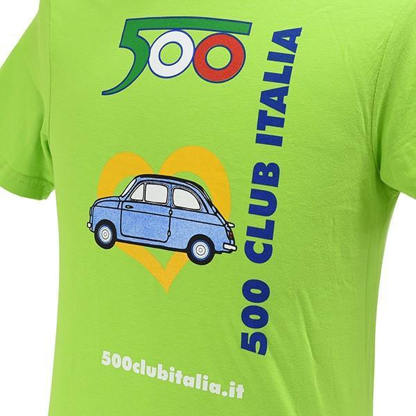 フィアット FIAT 500 CLUB ITALIA 35thミーティングTシャツ|itazatsu|03