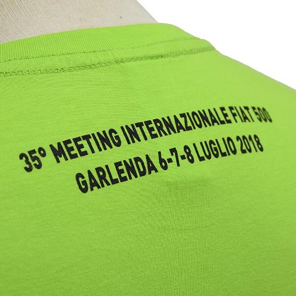 フィアット FIAT 500 CLUB ITALIA 35thミーティングTシャツ|itazatsu|06