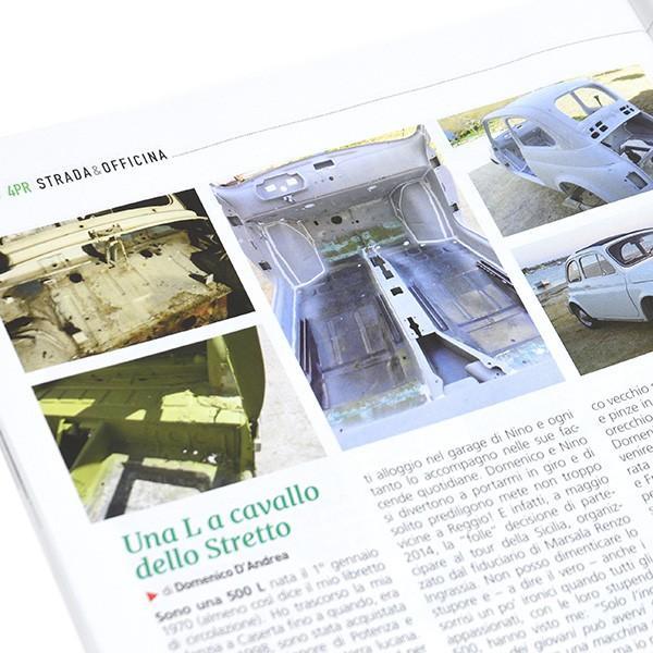 フィアット FIAT 500 CLUB ITALIA会報誌 2018年No.4 itazatsu 11