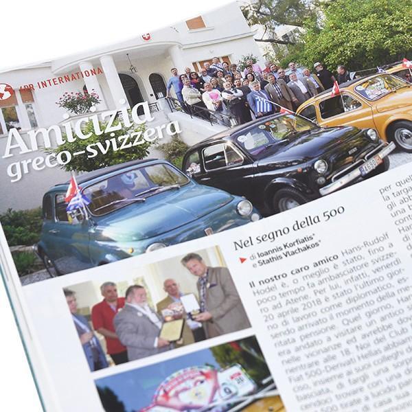 フィアット FIAT 500 CLUB ITALIA会報誌 2018年No.4 itazatsu 08