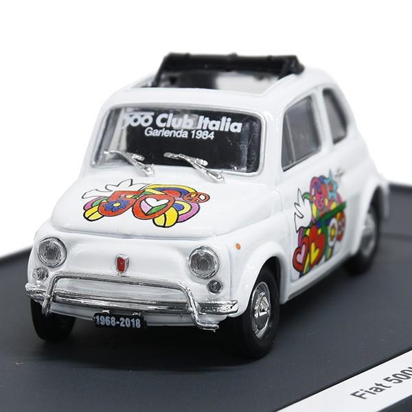 1/43 フィアット Nuova 500L 50周年リミテッドエディションミニチュアモデルbyFIAT 500 CLUB ITALIA|itazatsu