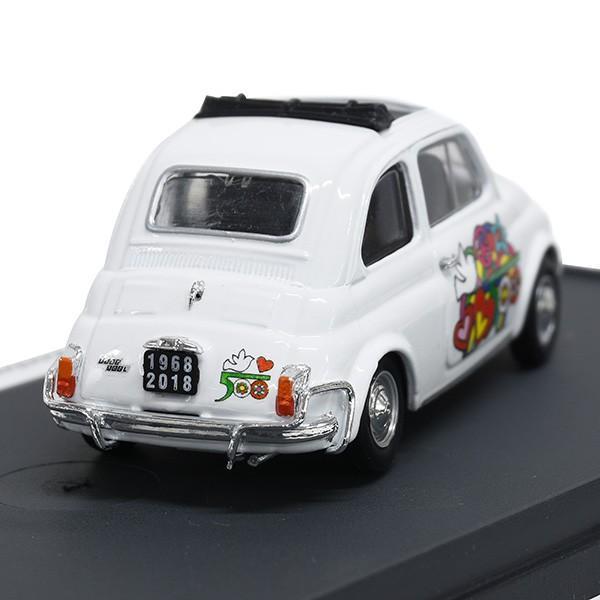 1/43 フィアット Nuova 500L 50周年リミテッドエディションミニチュアモデルbyFIAT 500 CLUB ITALIA|itazatsu|02