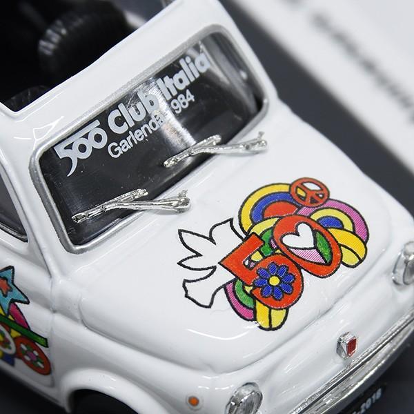 1/43 フィアット Nuova 500L 50周年リミテッドエディションミニチュアモデルbyFIAT 500 CLUB ITALIA|itazatsu|04