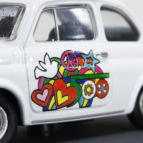 1/43 フィアット Nuova 500L 50周年リミテッドエディションミニチュアモデルbyFIAT 500 CLUB ITALIA|itazatsu|05