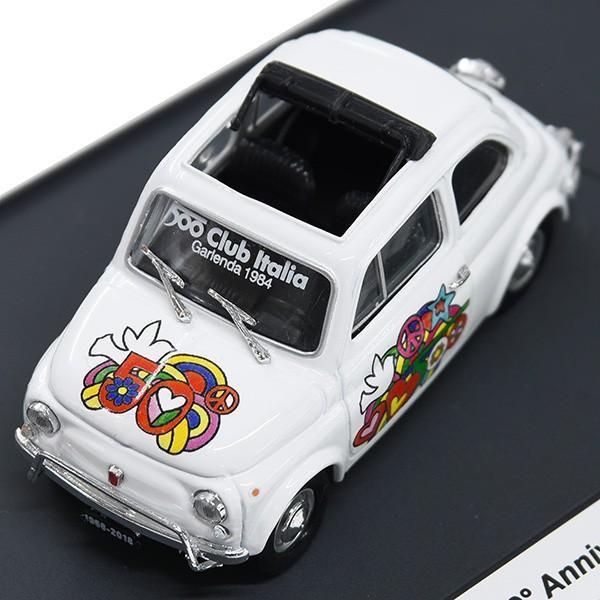 1/43 フィアット Nuova 500L 50周年リミテッドエディションミニチュアモデルbyFIAT 500 CLUB ITALIA|itazatsu|07