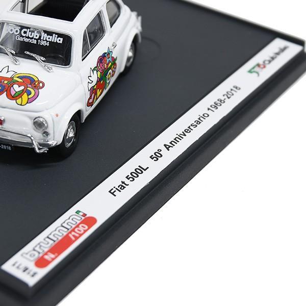 1/43 フィアット Nuova 500L 50周年リミテッドエディションミニチュアモデルbyFIAT 500 CLUB ITALIA|itazatsu|08