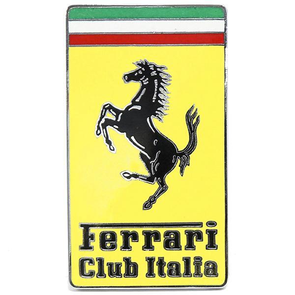 フェラーリ Club Italiaエンブレム|itazatsu