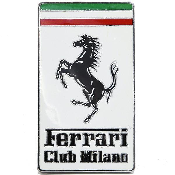 フェラーリ Ferrari CLUB MILANO七宝エンブレム|itazatsu