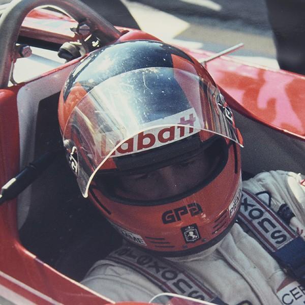 Gilles Villeneuve額装フォト Type A|itazatsu|03