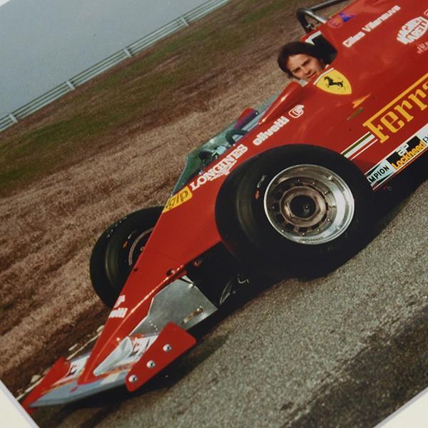 Gilles Villeneuve額装フォト Type B|itazatsu|03