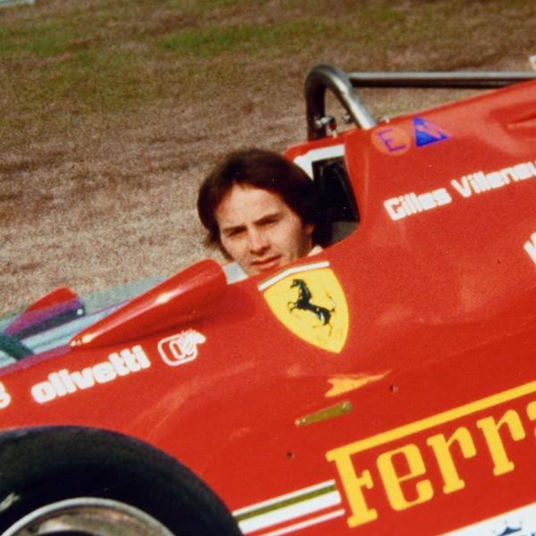 Gilles Villeneuve額装フォト Type B|itazatsu|05