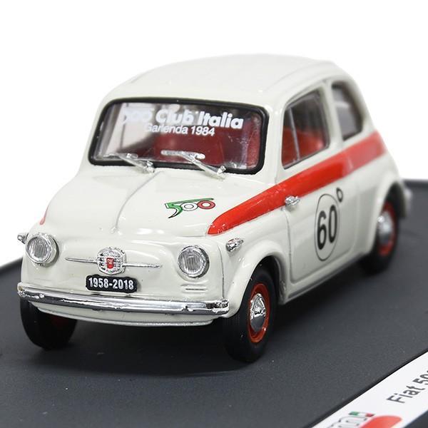 1/43 フィアット 500 CLUB ITALIA 500 60th SPORTミニチュアモデル(リミテッドエディション)|itazatsu