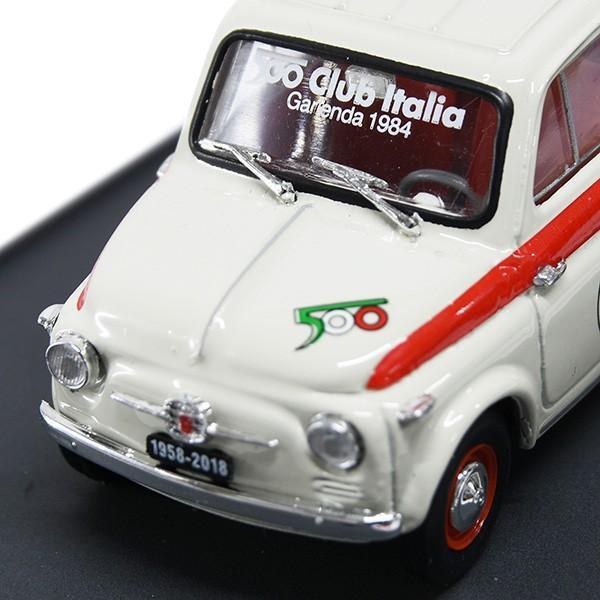 1/43 フィアット 500 CLUB ITALIA 500 60th SPORTミニチュアモデル(リミテッドエディション)|itazatsu|06