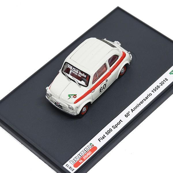 1/43 フィアット 500 CLUB ITALIA 500 60th SPORTミニチュアモデル(リミテッドエディション)|itazatsu|08